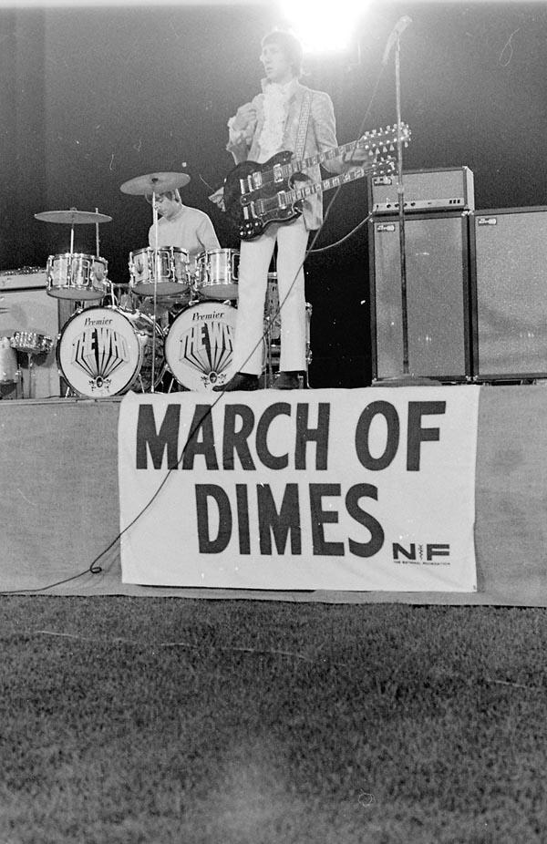 Tom Wright photo Pete Townshend